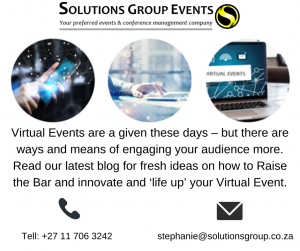 Raise the bar for your virtual event